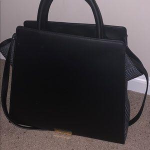 Zac Posen large black satchel